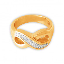 GD 316 ANILLO INFINITO CON BRILLANTE